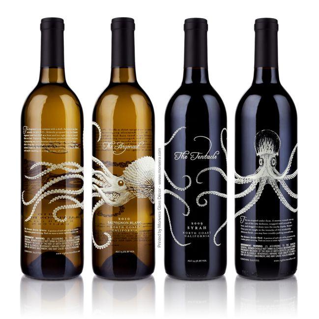 Silk Screen Printing bottle