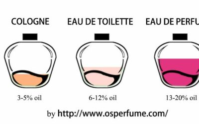 Perfume Types (classifications)