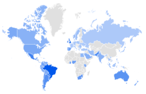 perfume market size of countries