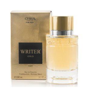 Writer Gold Eau de Toilette Spray for Men
