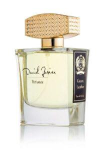 Green Leather Eau de Parfum Spray for Women and Men by Daniel Josier