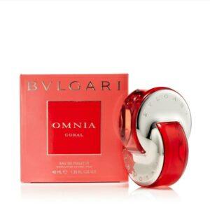 Omnia Coral Eau de Toilette Spray for Women by Bvlgari